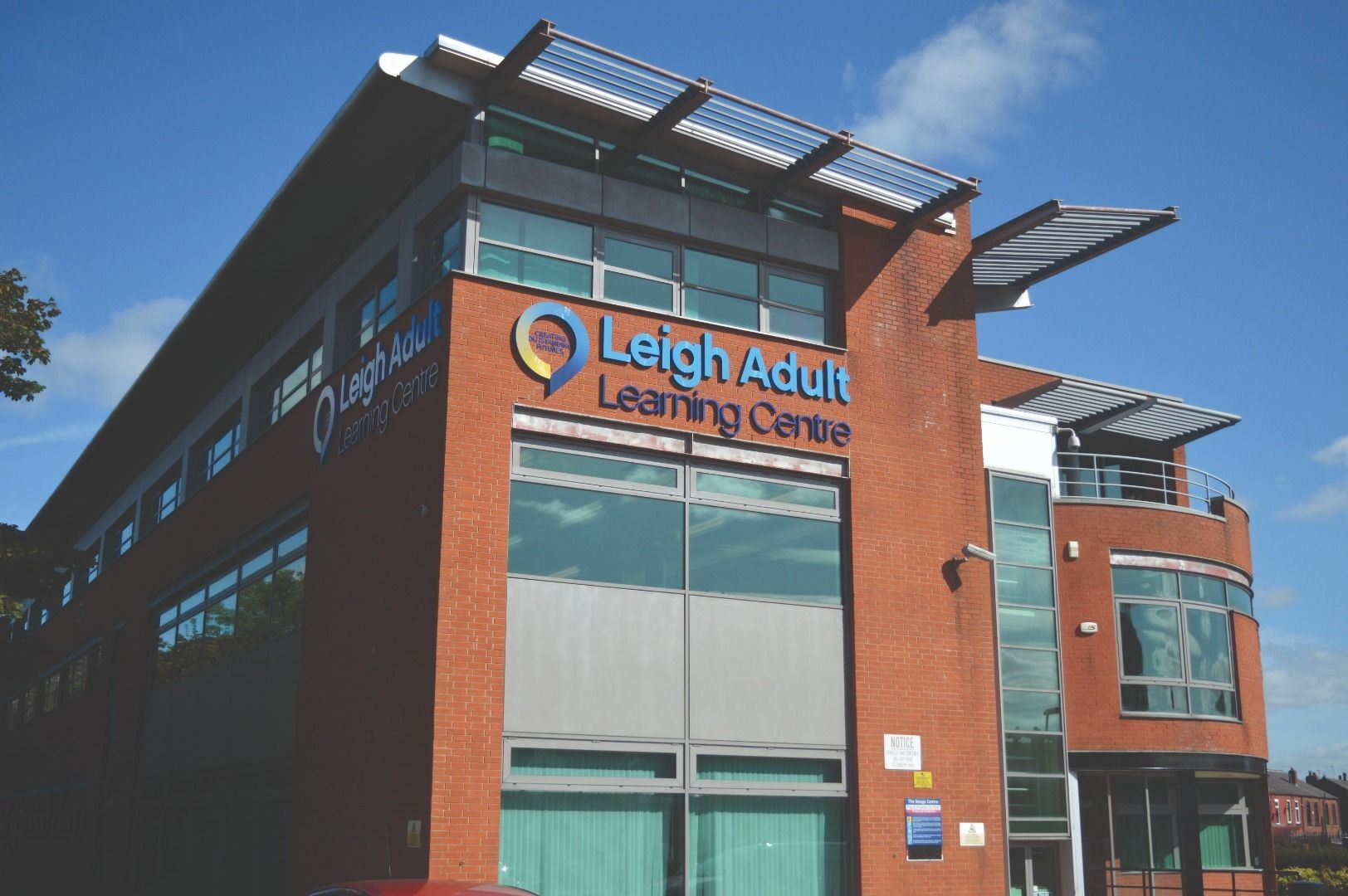 Leigh Adult Learning Centre Building Photo